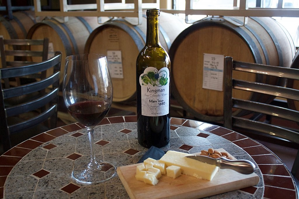 Wine and Cheese at Kingman Winery