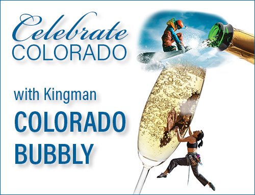 Colorado Bubbly Wine by Kingman